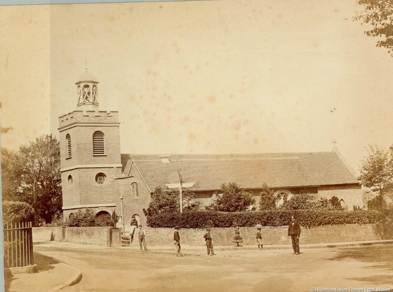 Figure 1 The Parish Church of St Mary, Teddington, 1900
