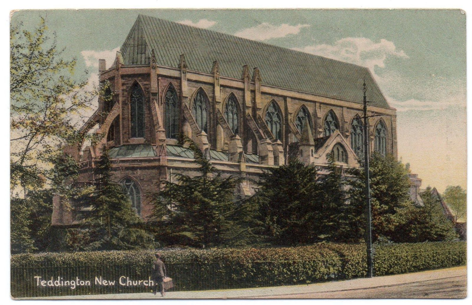 Figure 5 St Alban's Church, Teddington, in 1906